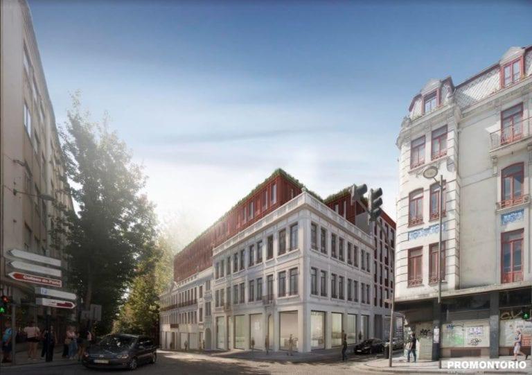 Bonjardim é o novo projeto no Porto num investimento de 57 milhões de euros
